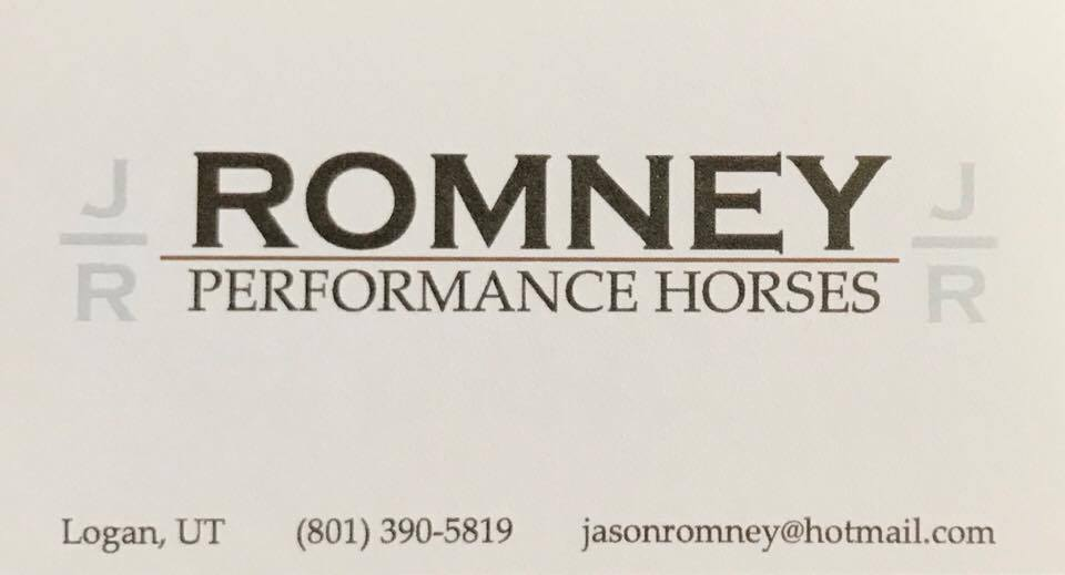 Romney Performance Horses